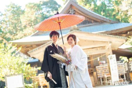 【浜松・井伊谷宮】格式高い神社で前撮りを 御朱印集めにもおすすめ