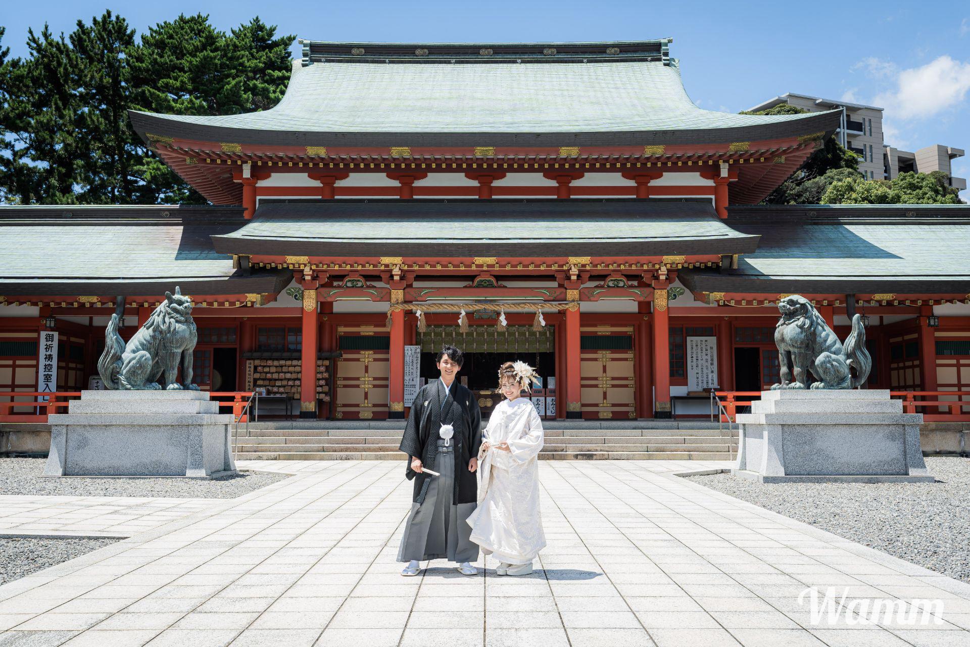 【先着1組】グランドホテル浜松提供神社式『遠州和婚』107,800円(98,000円税別) 浜松市内神社で結婚式を
